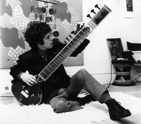 Donovan With Sitar